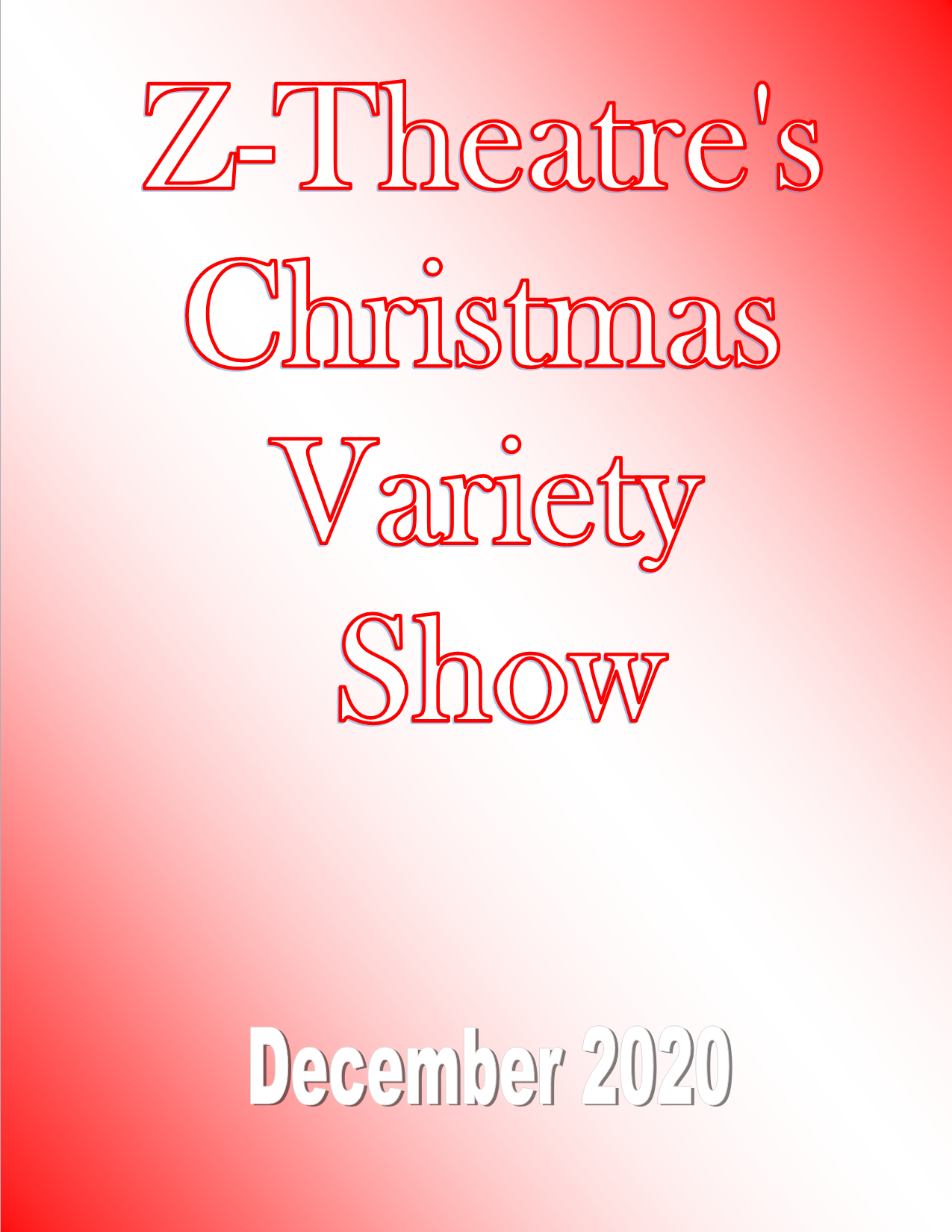 z-theatre zumbrota christmas musical variety show