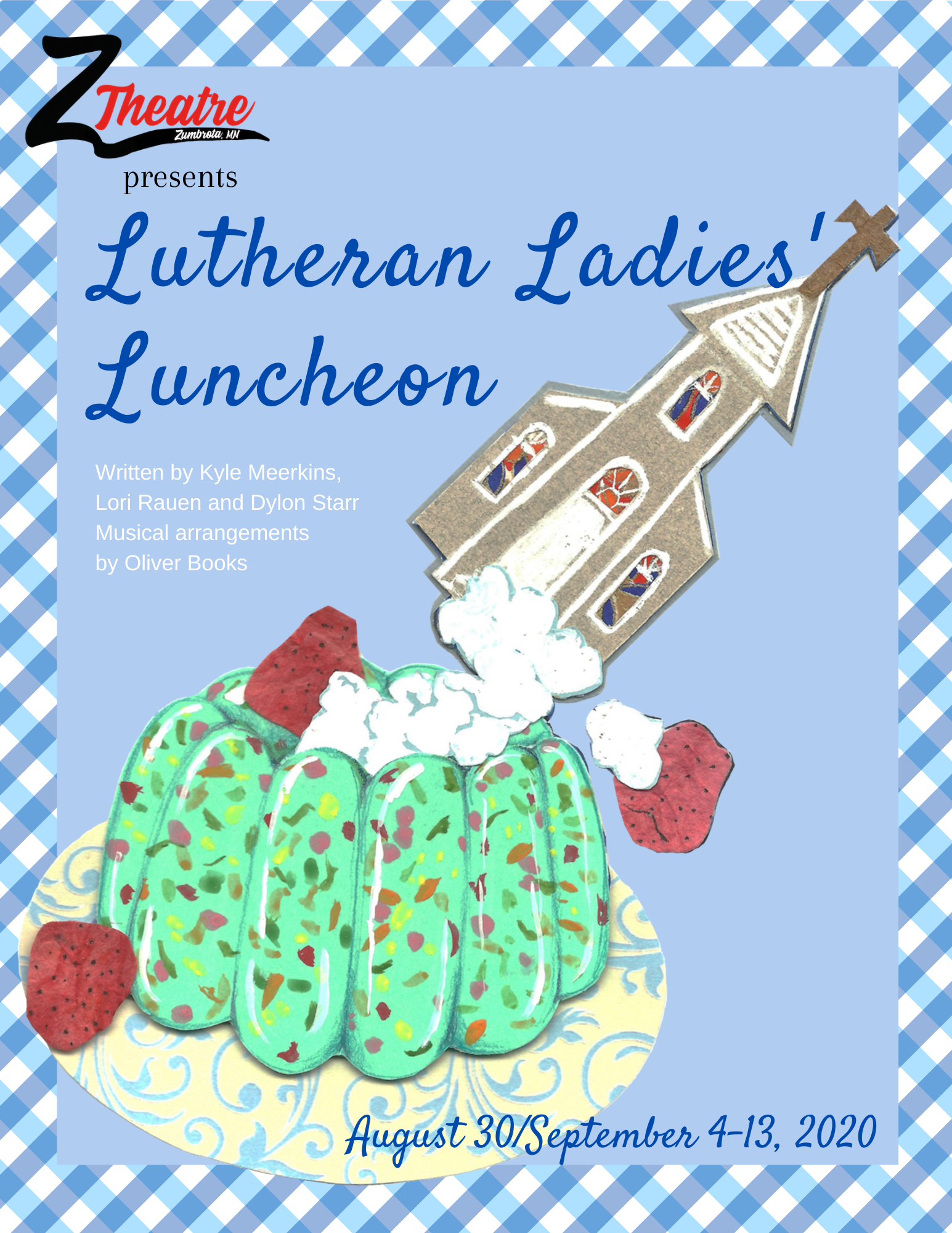 zumbrota minnesota theater theatre local starr meerkins rauen lutheran ladies luncheon church